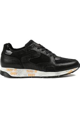 Jooze Siyah Erkek Deri Ayakkabı J4188