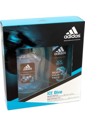 Adidas Ice Dive 100Ml Edt+Show.Gel