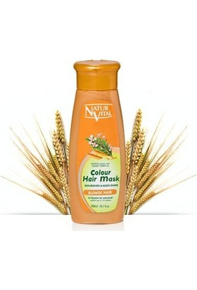 Natur Vıtal Colour Haır Mask Blonde Haır 250Ml