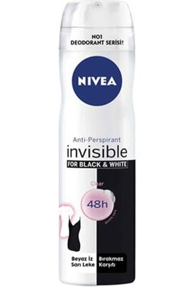 Nivea Deospray Invısıble Black&Whıte Women 150Ml