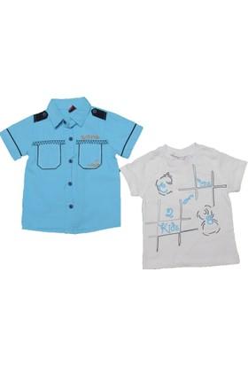 Cns Gömlek Cns 248 Mavi