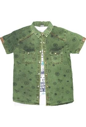Benics 552 Gömlek Yeşil
