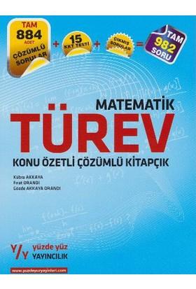 Yüzde Yüz Yayıncılık Lys Matematik Türev Konu Özetli Çözümlü Kitapçık