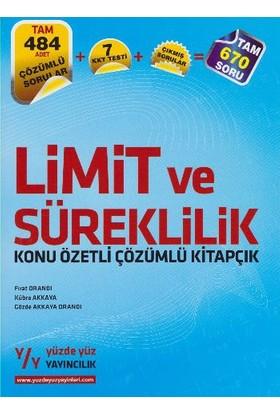 Yüzde Yüz Yayıncılık Lys Limit Ve Süreklilik Konu Özetli Çözümlü Kitapçık