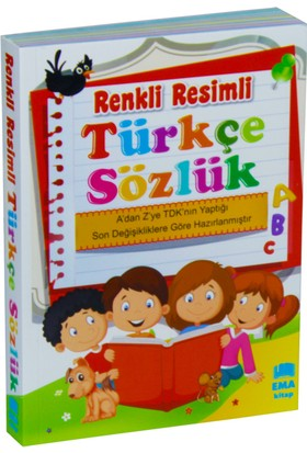 Renkli Resimli Türkçe Sözlük Tdk Uyumlu (Çanta Boy)
