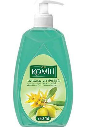 Komili Sıvı Sabun Zeytin Çiçeği 750 Ml