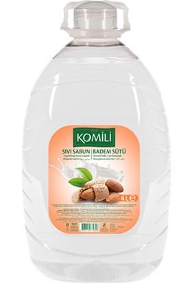 Komili Sıvı Sabun Badem Sütü 4 Lt