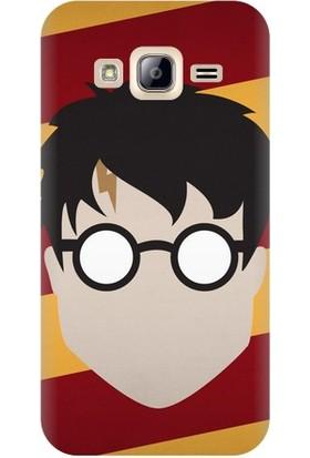 Kapakolur Samsung J7 Harry Potter Baskılı Kapak Kılıf + Koruyucu Cam