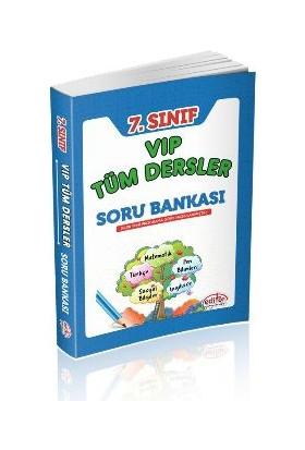 Editör Yayınları 7. Sınıf Vip Tüm Dersler Soru Bankası