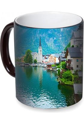 Fotografyabaskı Aipin (İsviçre) Sihirli Siyah Kupa Bardak Baskı