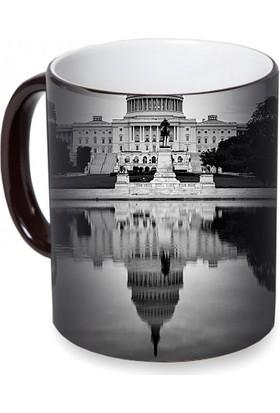 Fotografyabaskı Beyaz Saray Sihirli Siyah Kupa Bardak Baskı