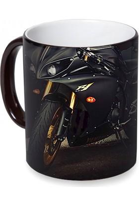 Fotografyabaskı Yamaha Sihirli Siyah Kupa Bardak Baskı