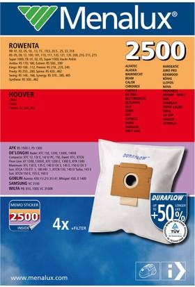 Menalux 2500 Toz Torbası