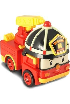 Robocar Poli Işıklı Transformers Robot Figür Roy