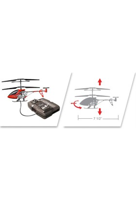 Silverlit Sky Griffin U.K Helikopter 3CH Gyro Gri