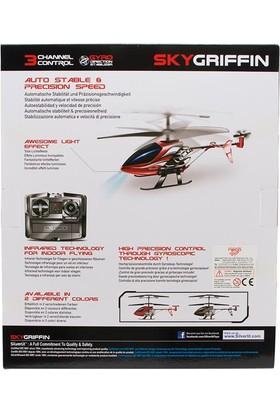 Silverlit Sky Griffin U.K Helikopter 3CH Gyro Kırmızı