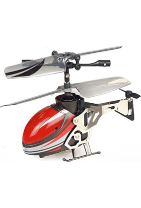 Silverlit Nano Falcon M U.K. Mini Helikopter (63 mm) 3CH Gyro Kırmızı