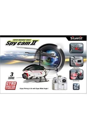 Silverlit Spy Cam II U.K. Kameralı Helikopter 2.4G - 3CH Gyro Gri