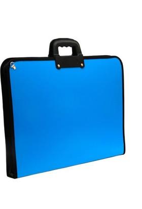 Proje Çantası Mavi Askılı Proje Çantası 35x50 cm