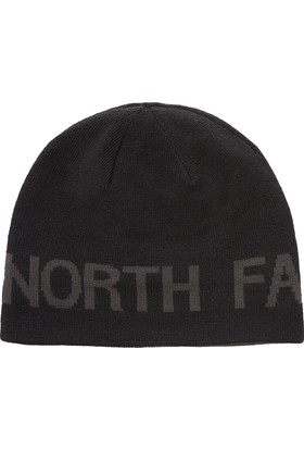 The North Face - Reversible tnf banner beanie - Erkek Bere (fw17) Siyah