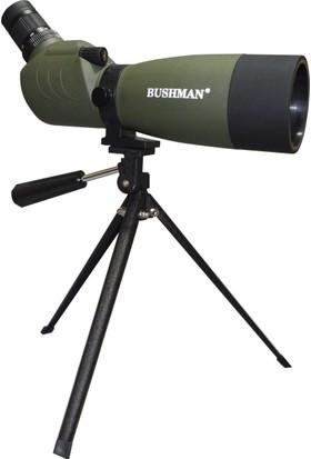 Bushman BN18 20-60x60 Tek Gözlü Kuş Gözlem ve Ok Atış Dürbünü
