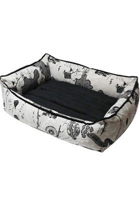 Bronza Soft Kedi-Köpek Yatağı No: 2 50x60x15 Map