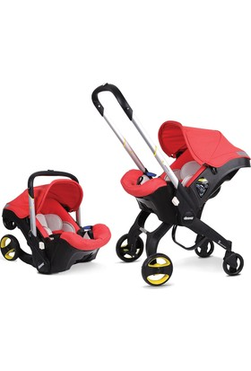 Doona Bebek Arabası & Oto Koltuğu - Kırmızı