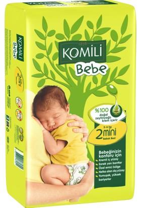 Komili Bebe Bebek Bezi 2 Beden İkiz Paket 42 Adet