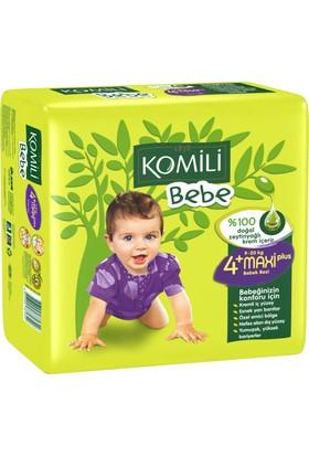 Komili Bebe Bebek Bezi 4+ Beden İkiz Paket 26 Adet