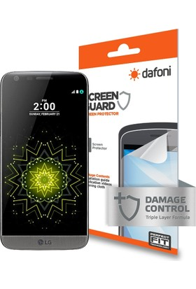 Dafoni LG G5 Darbe Emici Full Ekran Koruyucu Film