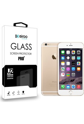 Eiroo iPhone 6 / 6S Tempered Glass Ön + Arka Cam Ekran Koruyucu