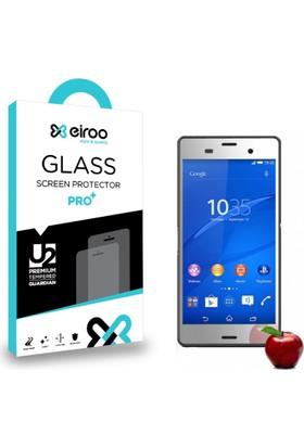Eiroo Sony Xperia Z3 Tempered Glass Ayna Cam Ekran Koruyucu