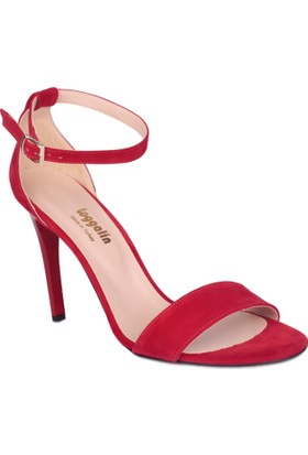 Loggalin 520003 031 558 Kadın Kırmızı Sandalet
