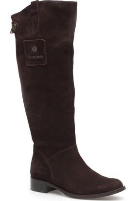 Pedro Camino Kadın Çizme 89925 Kahverengi