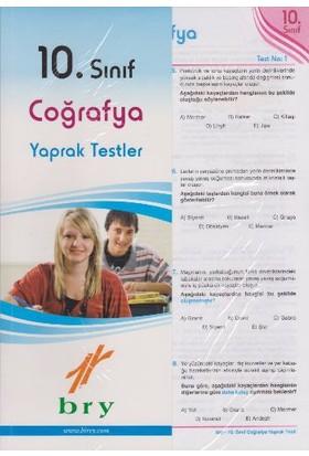 Birey Eğitim Yayınları 10. Sınıf Coğrafya Yaprak Testler
