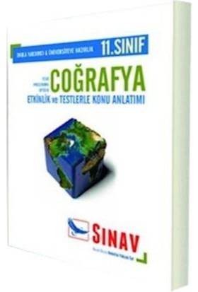Sınav Dergisi Yayınları 11. Sınıf Coğrafya Konu Anlatımlı