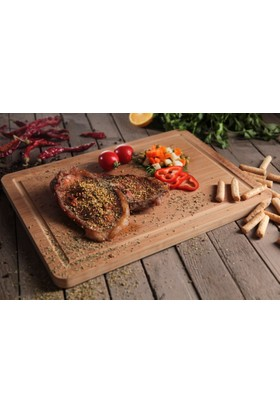 Bambum Tombo Mix Yekpare Steak Tahtası B2546