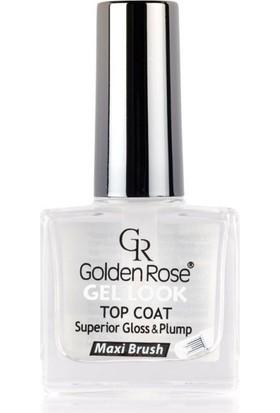 Golden Rose Gel Look Top Coat