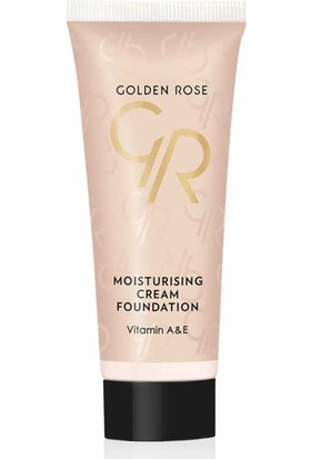 Golden Rose Moisturizing Cream Foundation - Fondöten - 1