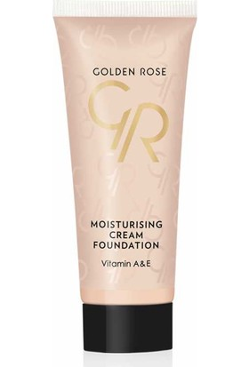 Golden Rose Moisturizing Cream Foundation - Fondöten - 3