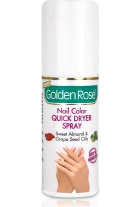 Golden Rose Nail Color Quick Dry Oje Kurutucu Sprey