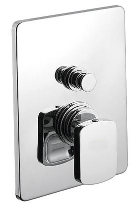 Bocchi Rio Ankastre Banyo Bataryası - Otomatik Yönlendiricili Krom