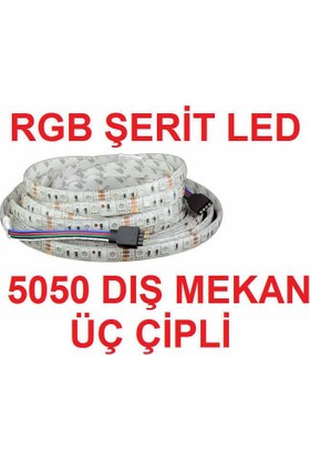 Okay Rgb Dış Mekan Şerit Led 5Mt