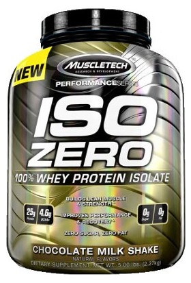 Muscletech Iso Zero İzole Whey Protein 2270 Gr