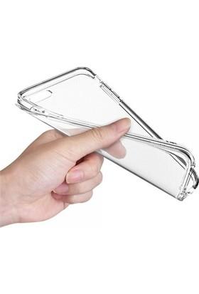 Angel Eye iPhone SE İnce Silikon Koruyucu Arka Kılıf Şeffaf