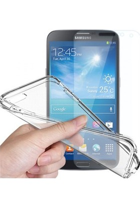 Angel Eye Samsung Galaxy J1 Ekran Koruyucu + Şeffaf Silikon Kılıf