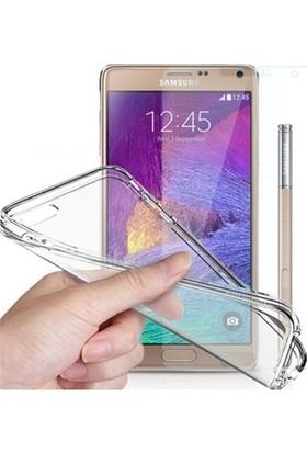 Angel Eye Samsung Galaxy Note 2 Ekran Koruyucu + Şeffaf Silikon Kılıf