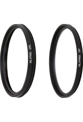 Canon 16-35mm f/2.8L Lens için HLYPRO UV Filtre + Polarize Filtre