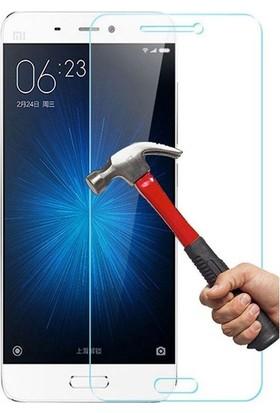 Teleplus Xiaomi Mİ5 Plastik ve Cam Ekran Koruyucu Karışımı Cam Ekran Koruyucu