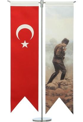 Ekin Bayrakçılık Türk Bayrağı ve Gazi M.K. Atatürk Masa Bayrak Takımı